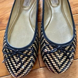 Jimmy Choo flats-literally wore once.